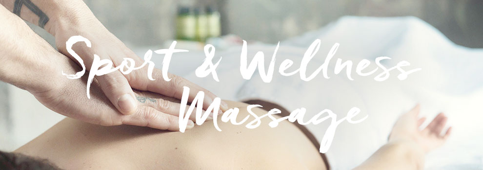 Sport and Wellness Massage