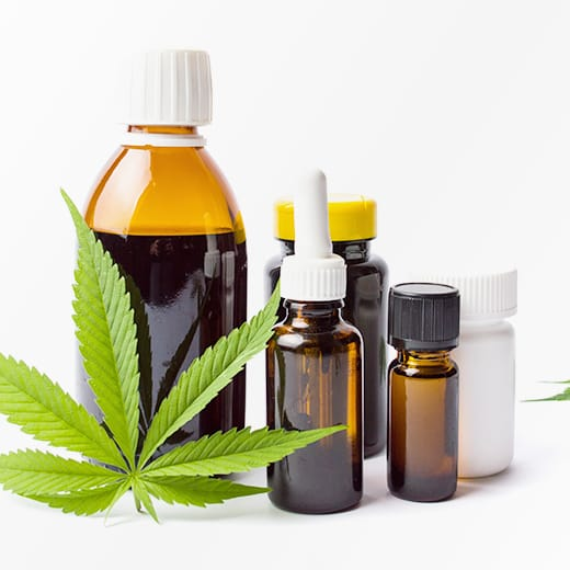 CBD, Cannabidiol-Massage